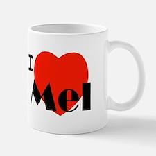 I Love Mel Small Small Mug