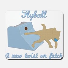 Flyball Twist Mousepad