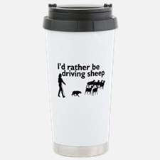 Driving Sheep Travel Mug