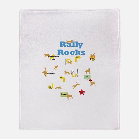 Rally 4 Throw Blanket