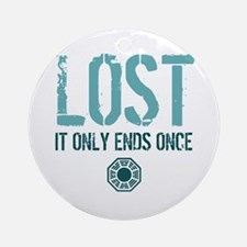 LOST Ends Ornament (Round)