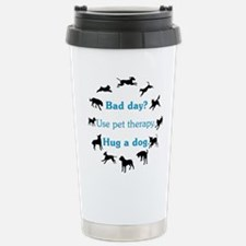 Pet Therapy Stainless Steel Travel Mug