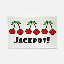 'Jackpot' Rectangle Magnet