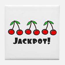 'Jackpot' Tile Coaster