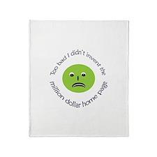 Inventive Envy Throw Blanket