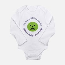 Inventive Envy Long Sleeve Infant Bodysuit