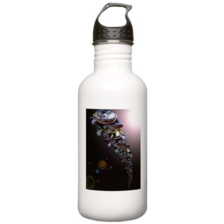 Turtles All The Way Down Stainless Water Bottle 1.