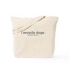 """I rescue Dogs"" Tote Bag"