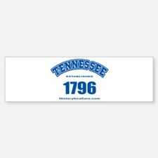 The State of Tennessee Sticker (Bumper)