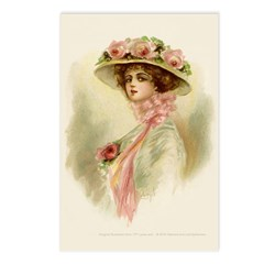 Gibson Girl Postcards (Package of 8)