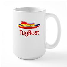 Red Tug Boat Mug