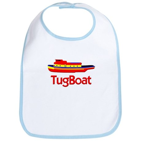 Red Tug Boat Bib