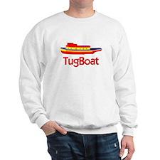 Red Tug Boat Sweatshirt