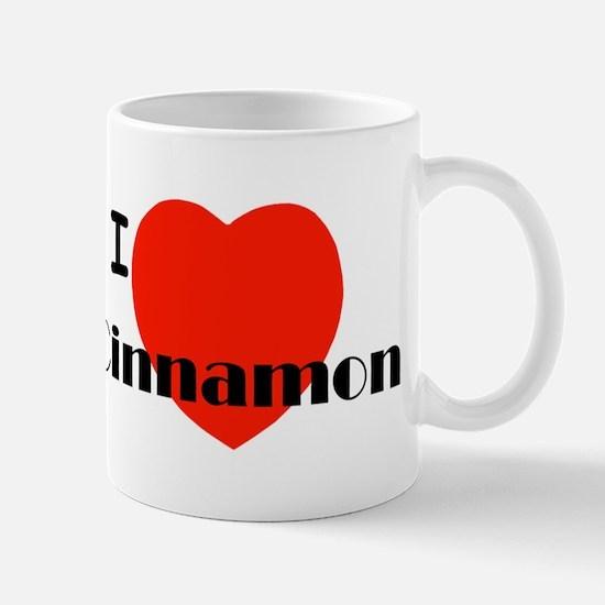 I Love Cinnamon Mug