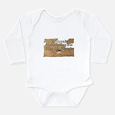 Cultural Voyeur Long Sleeve Infant Bodysuit