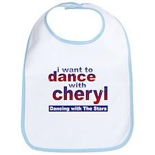 I want to Dance with Cheryl Bib