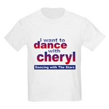 I want to Dance with Cheryl Kids Light T-Shirt