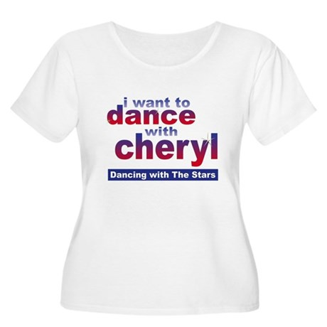 I want to Dance with Cheryl Women's Plus Size Scoo