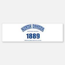 The State of North Dakota Bumper Bumper Sticker