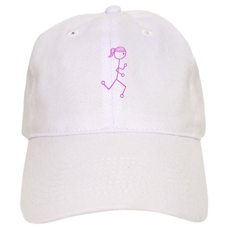 Pink Run. Girl No Words Cap