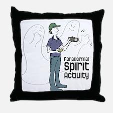 Paranormal Spirit Activity Throw Pillow