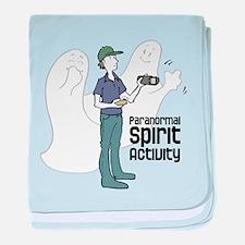 Paranormal Spirit Activity baby blanket