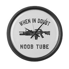 Noob Tube Large Wall Clock