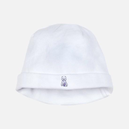 Westie Walkie baby hat