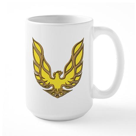 Firebird Muscle Car Large Mug