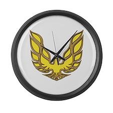 Firebird Muscle Car Large Wall Clock