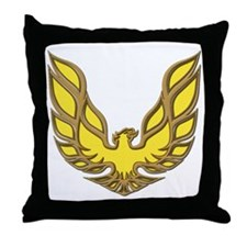 Firebird Muscle Car Throw Pillow