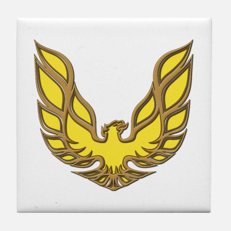 Firebird Muscle Car Tile Coaster
