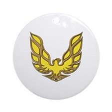Firebird Muscle Car Ornament (Round)
