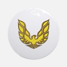 Firebird Muscle Car Ornament (Round)