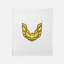 Firebird Muscle Car Throw Blanket