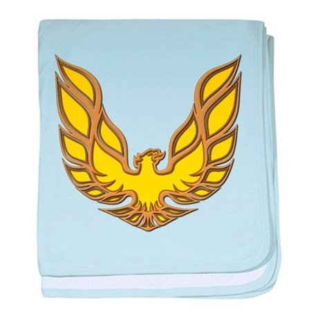 Firebird Muscle Car baby blanket