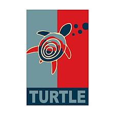 Turtle Hope Mini Poster Print