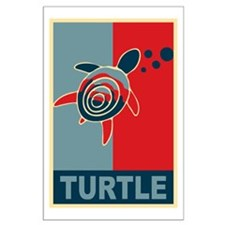 Turtle Hope Large Poster