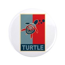 """Turtle Hope 3.5"""" Button (100 pack)"""