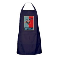 Turtle Hope Apron (dark)