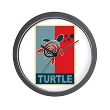 Turtle Hope Wall Clock