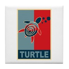 Turtle Hope Tile Coaster