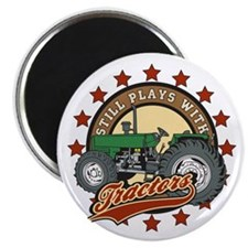 """Still Plays with Tractors G 2.25"""" Magnet (10 pack)"""