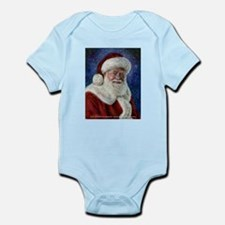 Santa's Starry Night Infant Bodysuit