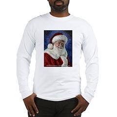 Santa's Starry Night Long Sleeve T-Shirt