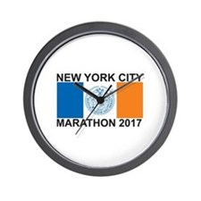 2017 New York City Marathon Wall Clock
