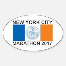 2017 New York City Marathon Decal