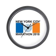 2018 New York City Marathon Wall Clock