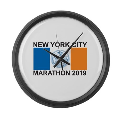 2019 New York City Marathon Large Wall Clock