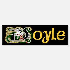 Doyle Celtic Dragon Bumper Bumper Bumper Sticker